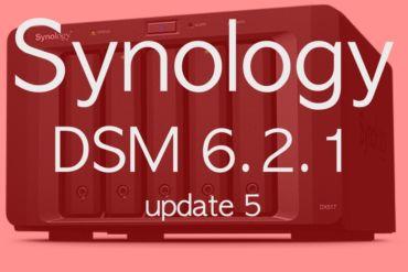 DSM 621 update5 370x247 - NAS - Synology publie DSM 6.2.1 update 5