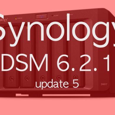 DSM 621 update5 390x390 - NAS - Synology publie DSM 6.2.1 update 5