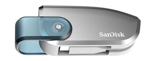 Prototype SanDisk 4 To USB C - WD et SanDisk présentent leurs nouveautés au CES 2019