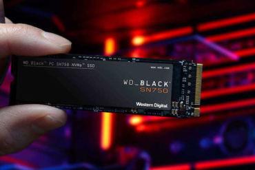 WD Black SN750 NVMe 370x247 - WD Black SN750 NMVe SSD est lancé