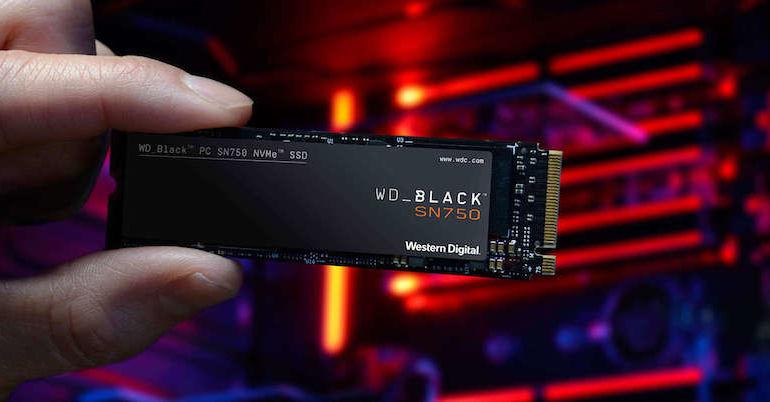 WD Black SN750 NVMe 770x402 - WD Black SN750 NMVe SSD est lancé