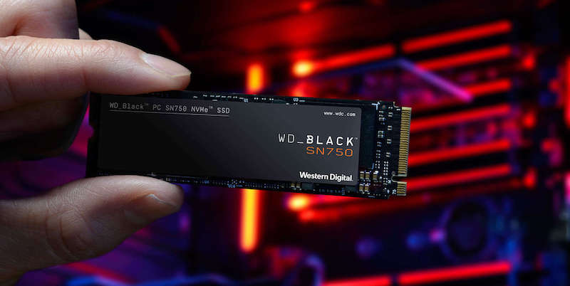 WD Black SN750 NVMe - WD Black SN750 NMVe SSD est lancé