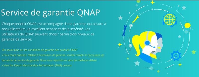 garantie Qnap - QNAP se lance dans l'extension de garantie pour les NAS