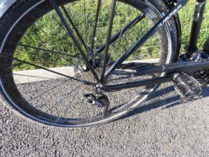 vitesses 300x225 - Test du vélo Gitane e-VERSO