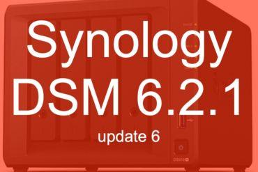 DSM 621 update6 370x247 - [Brève] Synology met à jour ses NAS avec DSM 6.2.1 Update 6