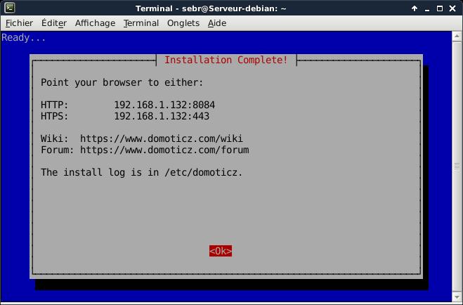 Domoticz install debian 7 - Installer Domoticz sur Debian 8 (Jessie)
