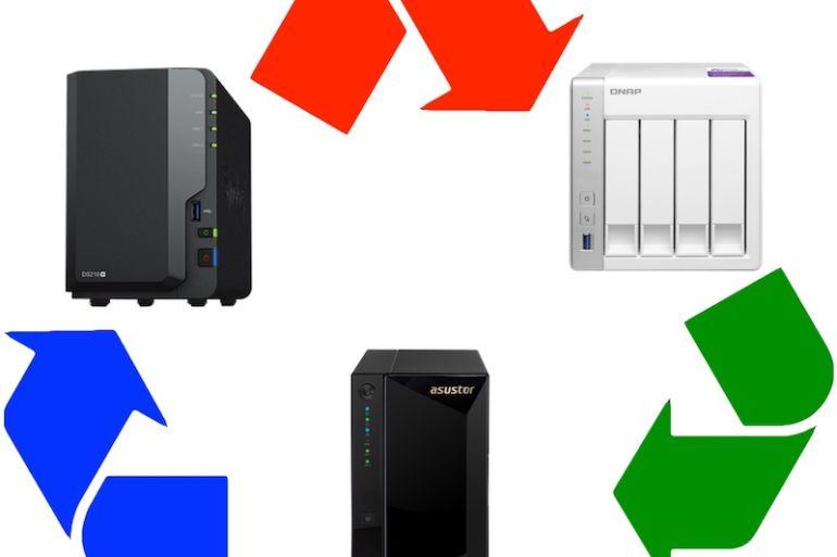 NAS change recycle 770x513 - Changer de NAS et garder les disques... attention !