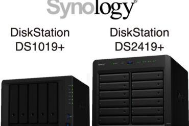 Synology DS1019 DS2419 370x247 - NAS - Synology DS1019+ et DS2419+ sont officiellement lancés