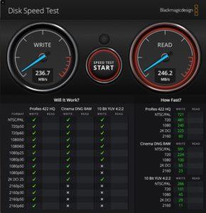 TR 004 SSD Mac Speed test 290x300 - Test du QNAP TR-004
