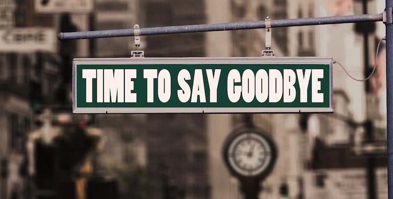time to say ggodbye - Bilan 2019