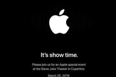 Apple Show Time 370x247 - Apple - Le prochain évènement est fixé au 25 mars