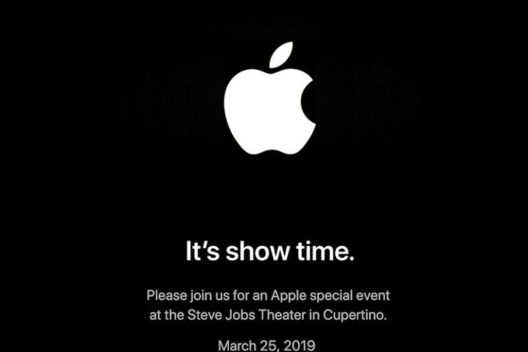 Apple Show Time 770x513 - Apple - Le prochain évènement est fixé au 25 mars