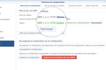 Capture SRM 121 u1 370x247 - Synology met à jour ses routeurs avec SRM 1.2.1 update 1