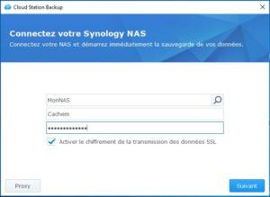 CloudStationBackup configuration 300x219 - NAS Synology et règle de sauvegarde 3-2-1
