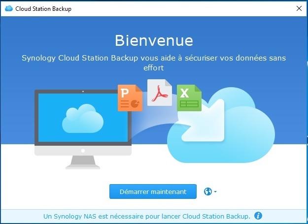 Cloud Station Backup - NAS Synology et règle de sauvegarde 3-2-1