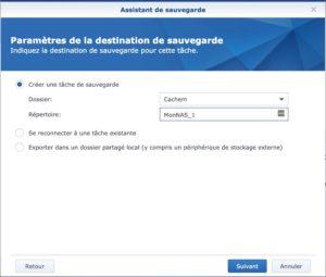 Hyper Backup Google Drive 300x255 - NAS Synology et règle de sauvegarde 3-2-1