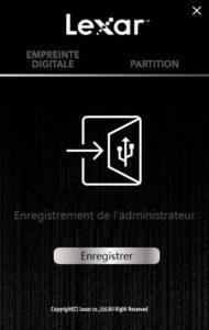 Lexar1 190x300 - Test de la clé USB Lexar FingerPrint F35 32Go