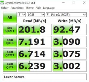 Secure crytal 300x275 - Test de la clé USB Lexar FingerPrint F35 32Go