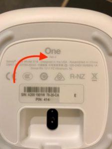 Sonos GEN2 dessosu 225x300 - Test de l'enceinte Sonos One (Gen 2)