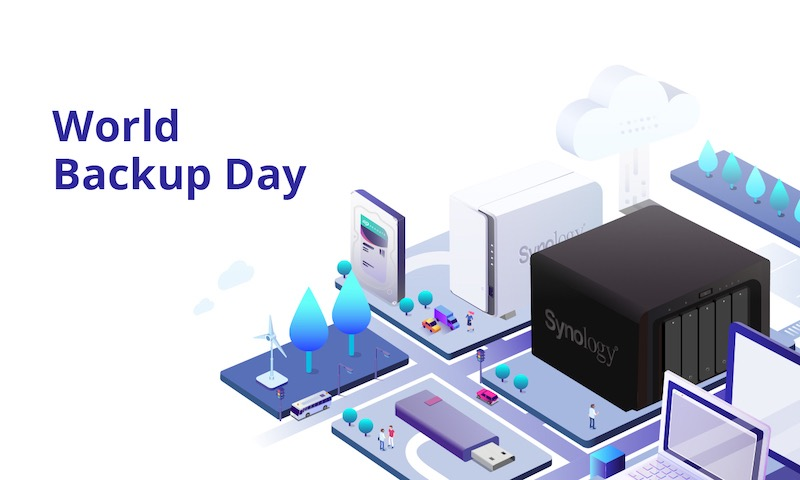 Synology World Backup Day - NAS Synology et règle de sauvegarde 3-2-1