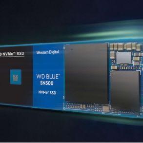 WD Blue SN500 NVMe SSD 293x293 - SSD - WD Blue SN500 NVMe