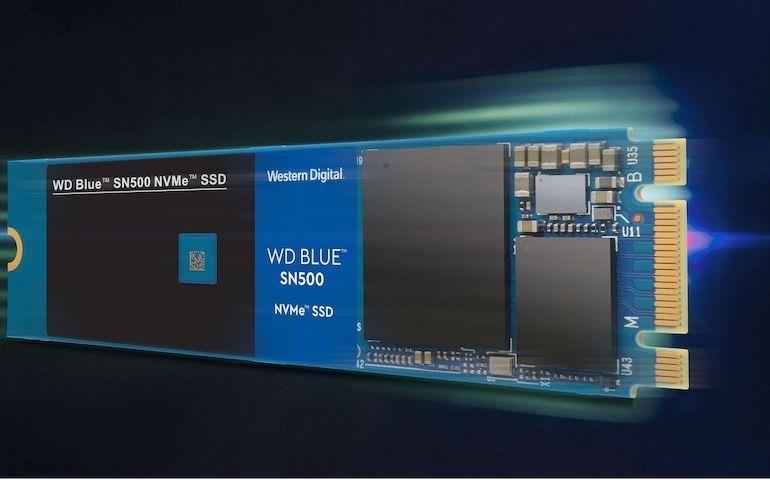 WD Blue SN500 NVMe SSD 770x480 - SSD - WD Blue SN500 NVMe
