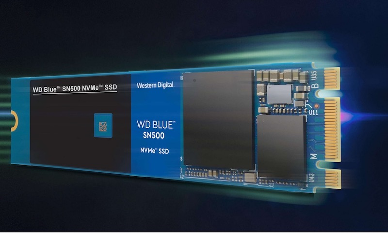 WD Blue SN500 NVMe SSD - SSD - WD Blue SN500 NVMe