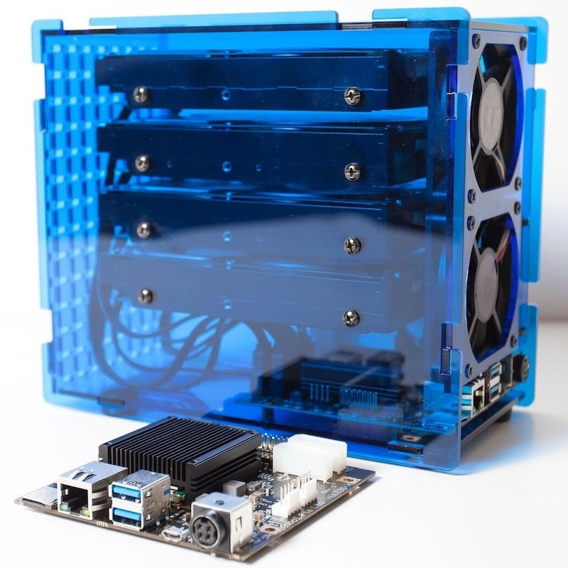 helios4 board and case - Helios4 - NAS Open Hardware et Open Source... en kit