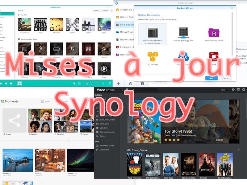 mises jour synology - NAS Synology - Mise à jour des applications / packages