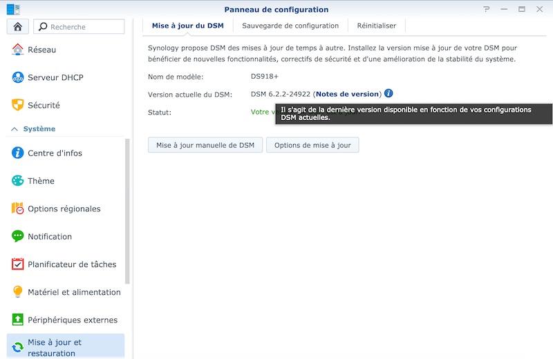 smart update synology - NAS - Synology DSM 6.2.2 est disponible pour tous...