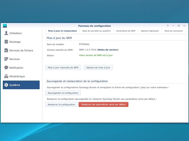 srm 122 7915 - Routeur - Synology SRM 1.2.2 est disponible en téléchargement...
