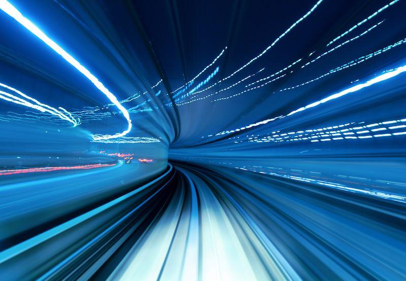 vitesse VPN Internet NAS - Synology - Connexions VPN client et serveur