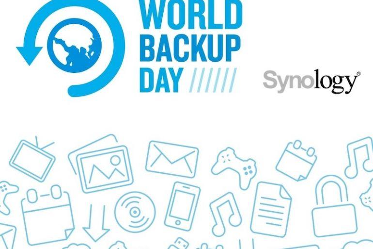 world backup day synology 770x513 - NAS Synology et règle de sauvegarde 3-2-1