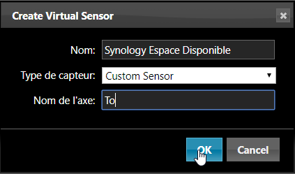 Domoticz monitoring nas 11 - Domoticz - Monitorer son NAS Synology