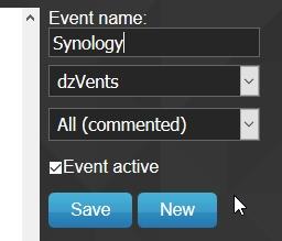 Domoticz monitoring nas 20 - Domoticz - Monitorer son NAS Synology