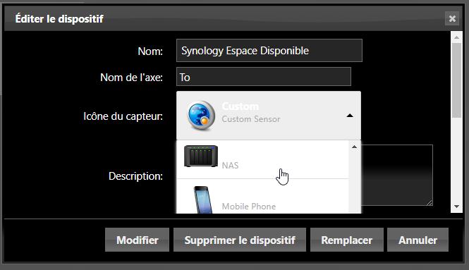 Domoticz monitoring nas 32 - Domoticz - Monitorer son NAS Synology