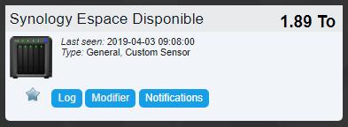 Domoticz monitoring nas 33 - Domoticz - Monitorer son NAS Synology