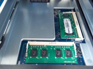 RAM DS1019 300x225 - NAS - Test du Synology DS1019+... un air de déjà-vu