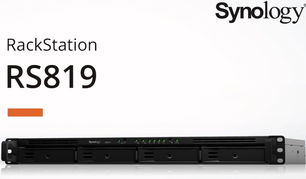 RS819 - Synology lance le RS819