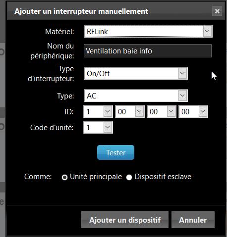 Ventilation baie info 2 - Domoticz - DIY automatiser la ventilation de votre baie informatique