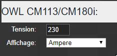 owl cm180 26 - Domoticz - OWL CM 180 votre consommation électrique en temps réel (sans Linky)