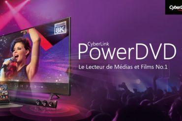 powerdvd 19 370x247 - PowerDVD 19 est disponible : vidéos 8K et 64 bits en natif
