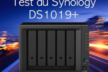 test DS1019plus 370x247 - NAS - Test du Synology DS1019+... un air de déjà-vu