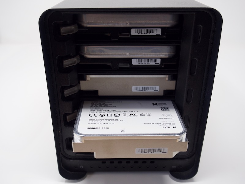 Drobo 5N2 disk - NAS - Test du Drobo 5N2