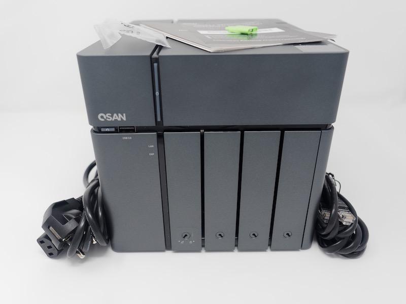 QSAN XN7004T - NAS - Test du QSAN XN7004T