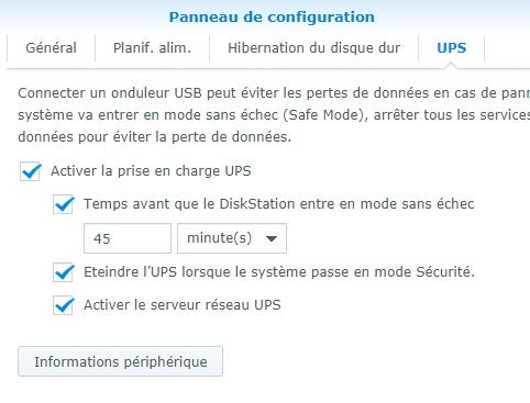 Syno et ups 1 - Serveur UPS & Domoticz : Synology a fait machine arrière... DSM 6.2.2