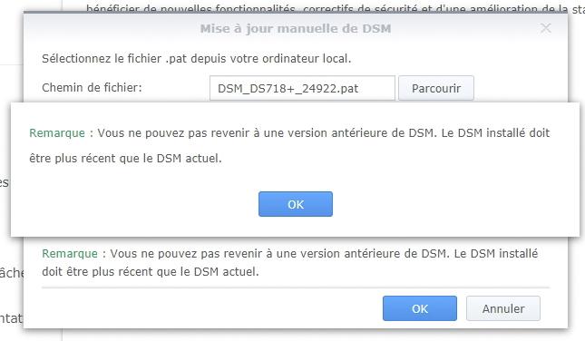 Syno et ups 3 - Serveur UPS & Domoticz : Synology a fait machine arrière... DSM 6.2.2