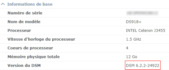 Syno et ups 5 - Serveur UPS & Domoticz : Synology a fait machine arrière... DSM 6.2.2