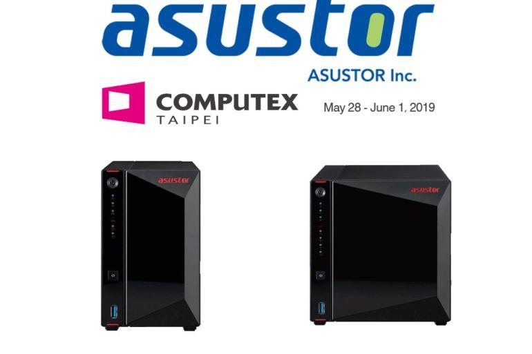asustor Computex 2019 770x513 - NAS - Asustor annonce 3 nouvelles séries : 2,5 Gbit/s, DDR4... pour certains du HDMI 2.0a
