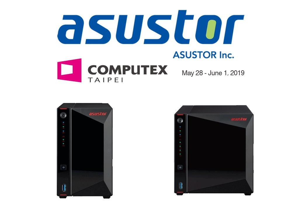 asustor Computex 2019 - NAS - Asustor annonce 3 nouvelles séries : 2,5 Gbit/s, DDR4... pour certains du HDMI 2.0a